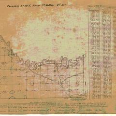 [Public Land Survey System map: Wisconsin Township 22 North, Range 15 East]