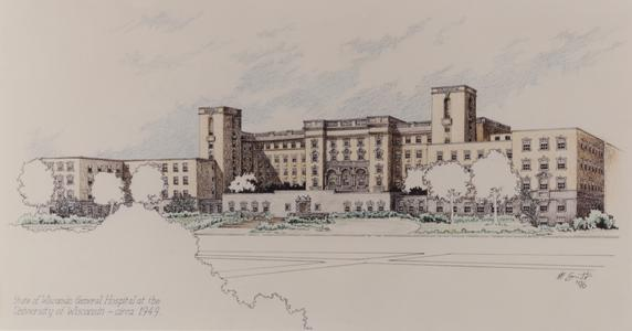 Old Wisconsin General Hospital at UW (Madison)