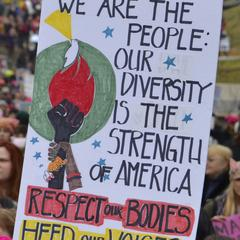 We Are The People :  Our Diversity is the Strength of America, Respect Our Bodies