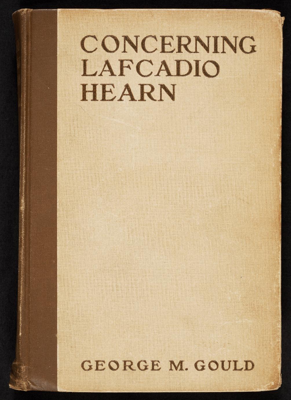 Concerning Lafcadio Hearn (1 of 2)