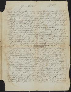 [Letter from Karl Sternberger to Jakob Sternberger, May 23, 1851]