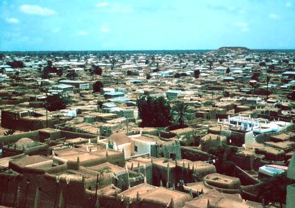 View of Kano from Minaret of Central Mosque