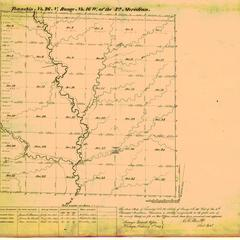 [Public Land Survey System map: Wisconsin Township 26 North, Range 16 West]