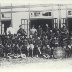 Industrial School band, Baguio, 1910-1930