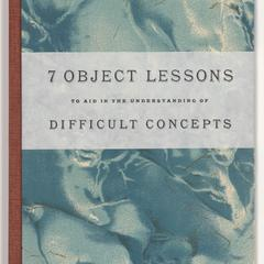 7 object lessons to aid in the understanding of difficult concepts