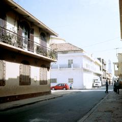 Street in Old Colonial Section of Saint-Louis