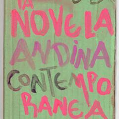La novela andina contemporánea : o manifiesto del María Angola