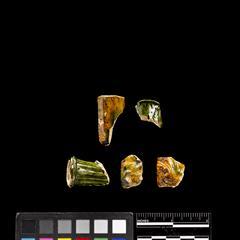 Smoking pipe fragments