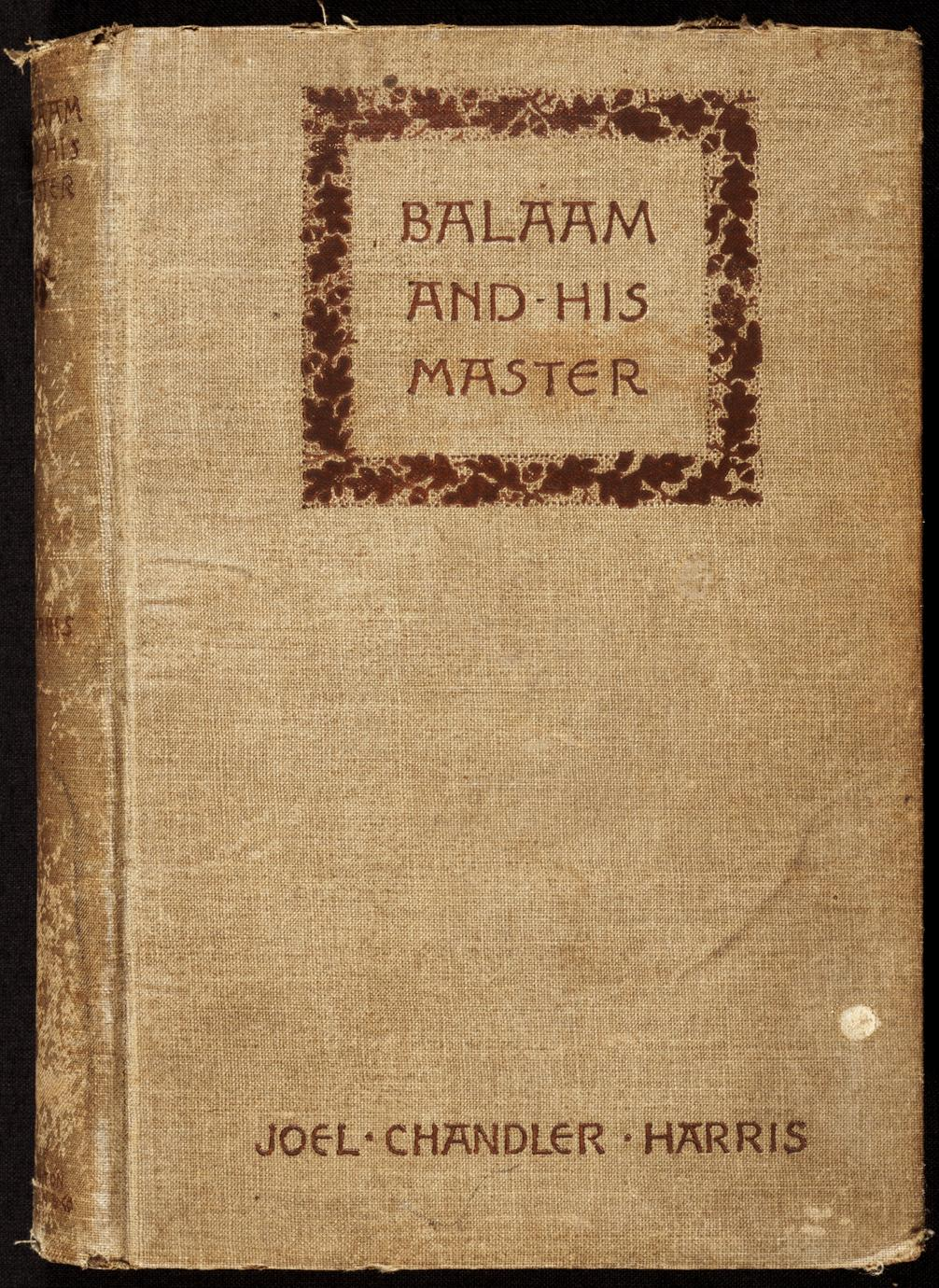 Balaam and his master : and other sketches and stories (1 of 2)