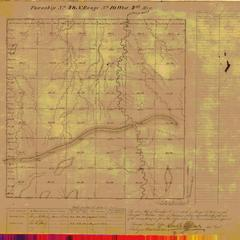 [Public Land Survey System map: Wisconsin Township 48 North, Range 10 West]