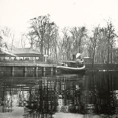 Boat Moored at Riverside Park