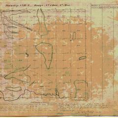 [Public Land Survey System map: Wisconsin Township 12 North, Range 06 East]