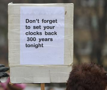 Don't Forget to Set Your Clocks Back 300 Years Tonight