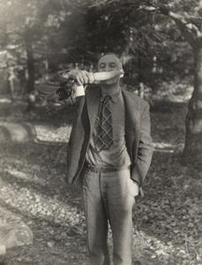 John H. Van Vleck goofing off