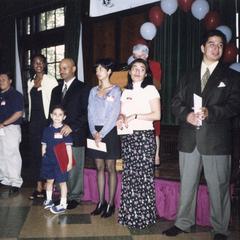 Graduates at 1998 Multicultural Graduation Celebration