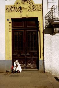 Veiled Woman in Algiers