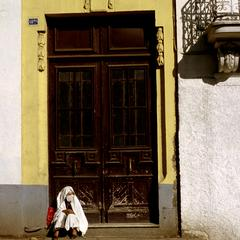 Veiled Woman in Algiers