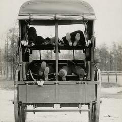 A Jeffery Quad ambulance
