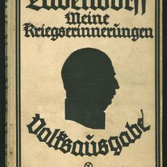 Meine Kriegserinnerungen, 1914-1918