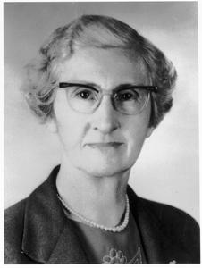 May L. Cowles, professor in home economics
