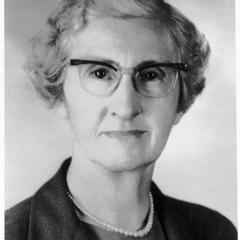May L. Cowles, professor in home economics