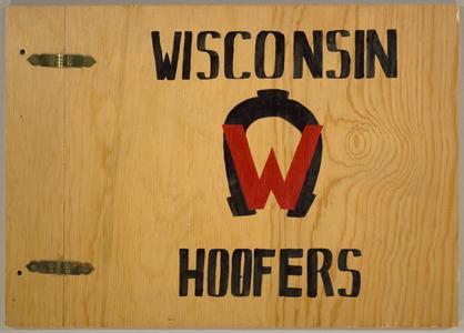 Wisconsin Hoofers scrapbook, number 1