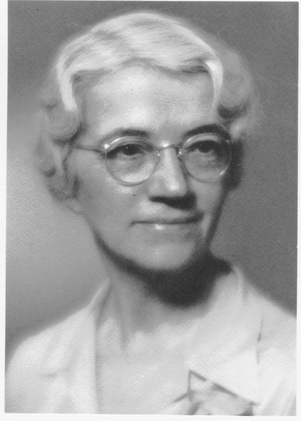 Helen T. Parsons, professor of nutrition in home economics, 1942