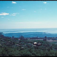 Overview of Lake Superior shore