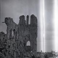 Ruins of the Cloth House in Ypres