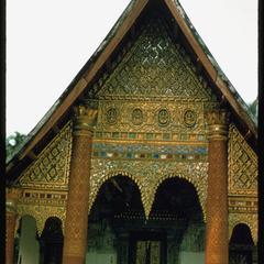 Vat Xieng Mouane--façade
