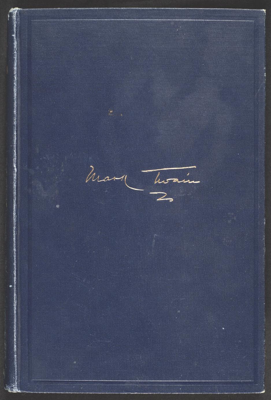 Mark Twain's autobiography (1 of 2)