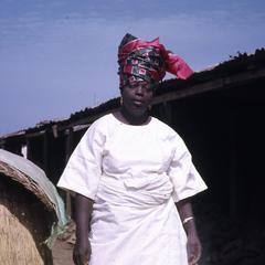 Mrs. Ogedengbe at the Ilesa market