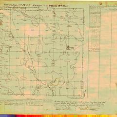 [Public Land Survey System map: Wisconsin Township 17 North, Range 09 East]