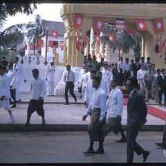 Leaving ceremony