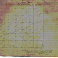 [Public Land Survey System map: Wisconsin Township 23 North, Range 06 West]