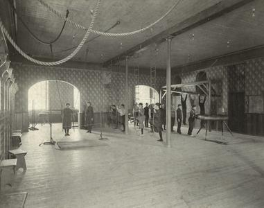 Platteville Normal School gymnasium