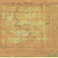 [Public Land Survey System map: Wisconsin Township 13 North, Range 08 East]