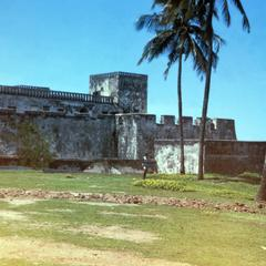 A View of Elmina Castle from the Western End