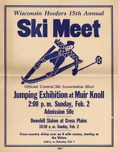 Wisconsin Hoofers 15th Annual Ski Meet