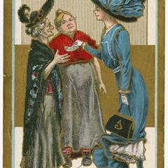 Electioneering, Suffragette Series no. 2 postcard