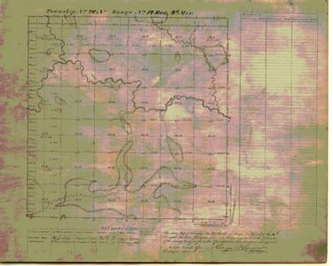 [Public Land Survey System map: Wisconsin Township 26 North, Range 14 East]