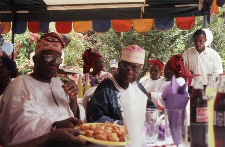 Apara and Eso at Tinu Ifaturoti's birthday party
