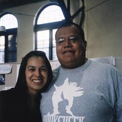 Man and woman pose for picture in 2004