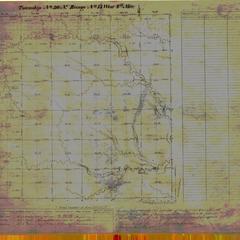[Public Land Survey System map: Wisconsin Township 30 North, Range 15 West]