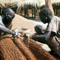 Preparing Dry Season Grain Holders