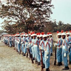 President Mobutu's Honor Guard