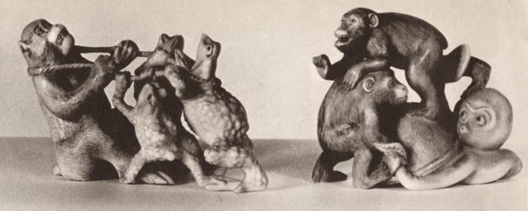 Chimpanzee Sculptures