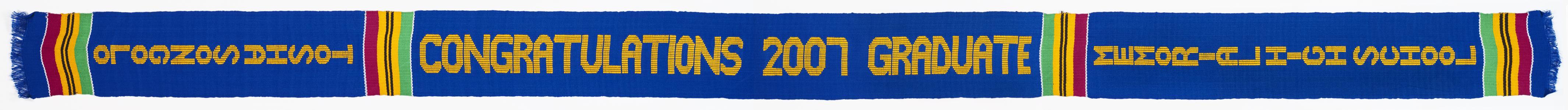Congratulations 2007 Graduate