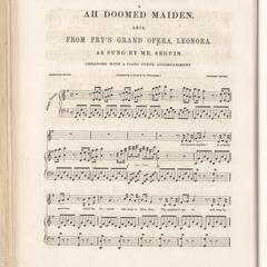 Ah! Doomed maiden