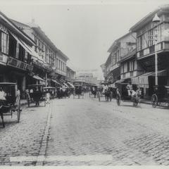 Escolta Street, Manila, 1899